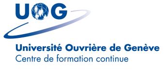 Logo of Université Ouvrière de Genève -  Moodle